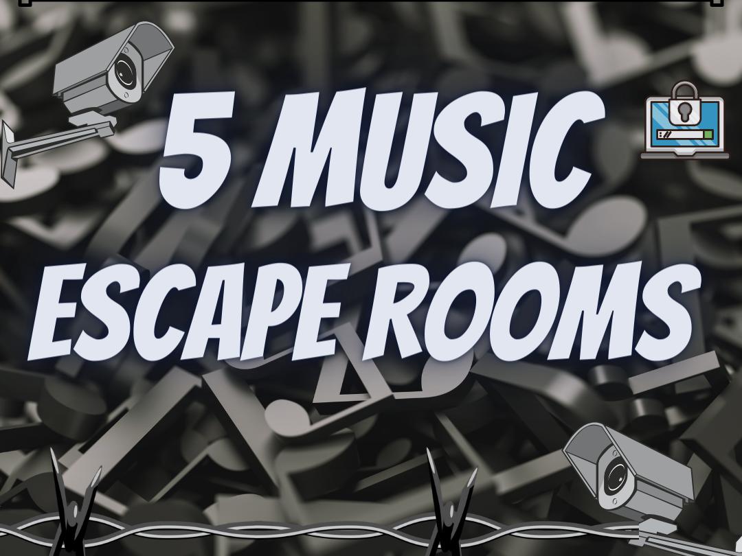 Music Escape rooms