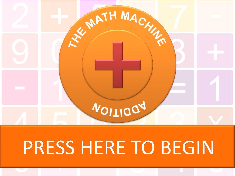 The Math Machine - Addition