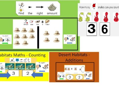 6  Maths   Interactive Digital Activities for Special Education