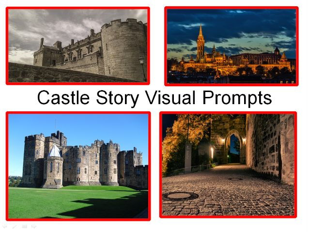 Castle Story Visual Prompts + 30 Key Castle Words + 31 Teaching Activities To Use In Your Classroom