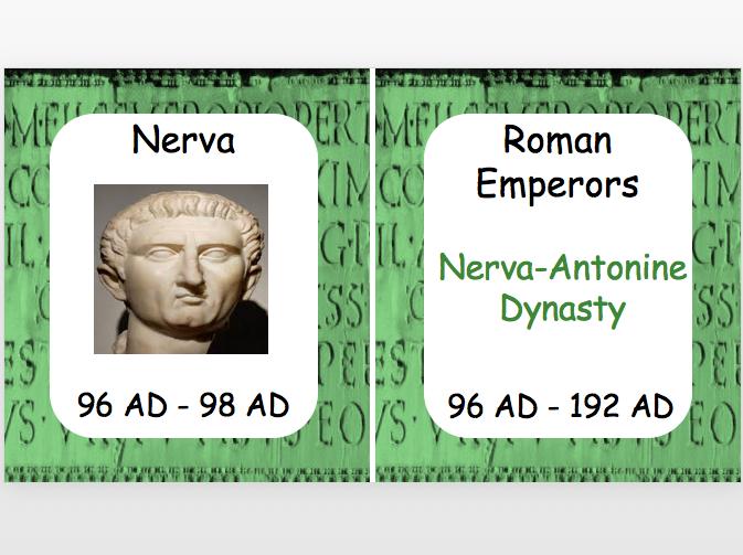 Roman Emperors: Nerva-Antonine Dynasty