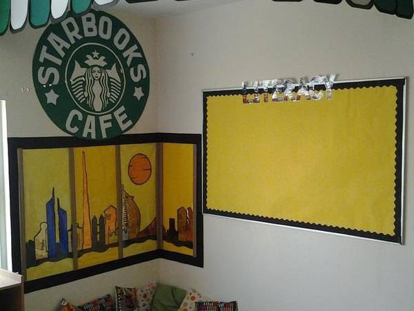 starbucks reading corner display resources  u0026 book review