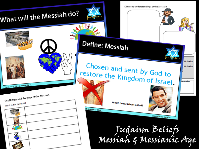 GCSE Judaism - Messiah & Messianic Age (2 Lessons)