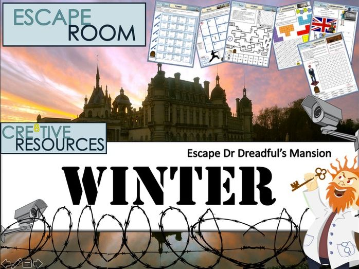 Christmas End of Term Escape Room