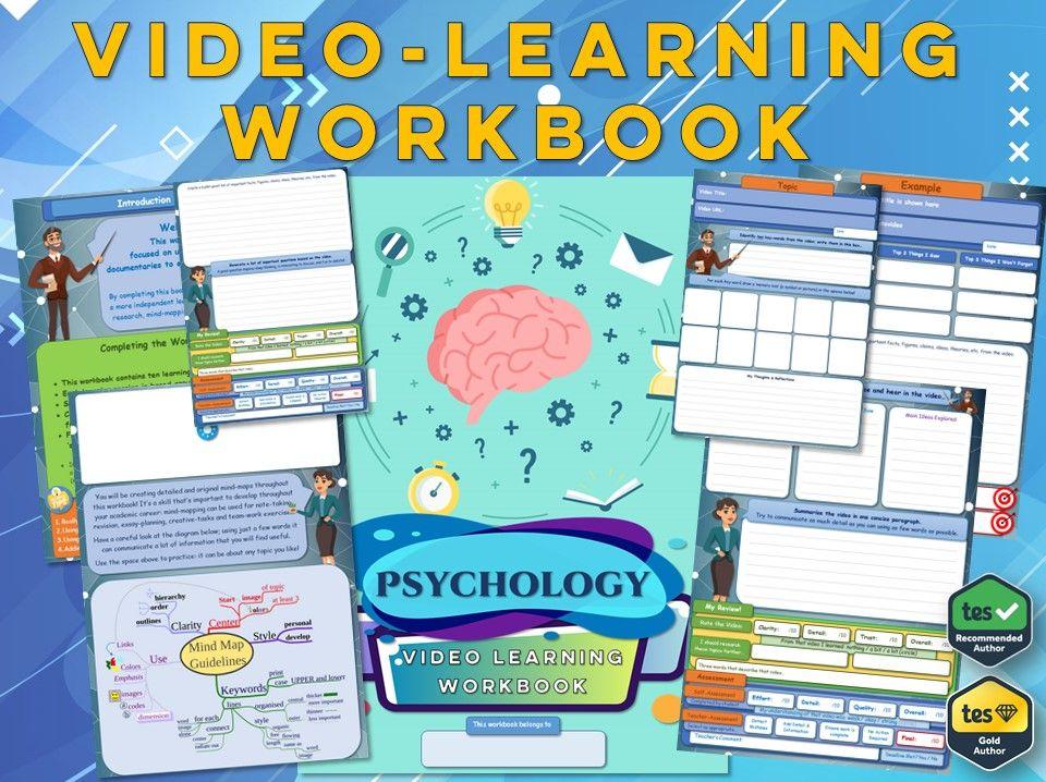 GCSE Psychology  - Workbook [Video Learning Workbook]