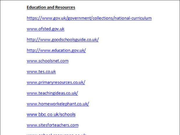 A list of great websites for Supply Teachers moving to the UK