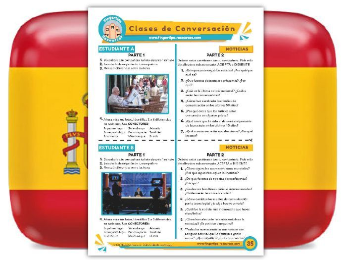 Noticias - Spanish Speaking Activity