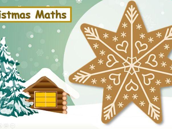 Christmas Spelling & Maths