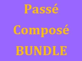 Passé Composé Regular verbs French Bundle