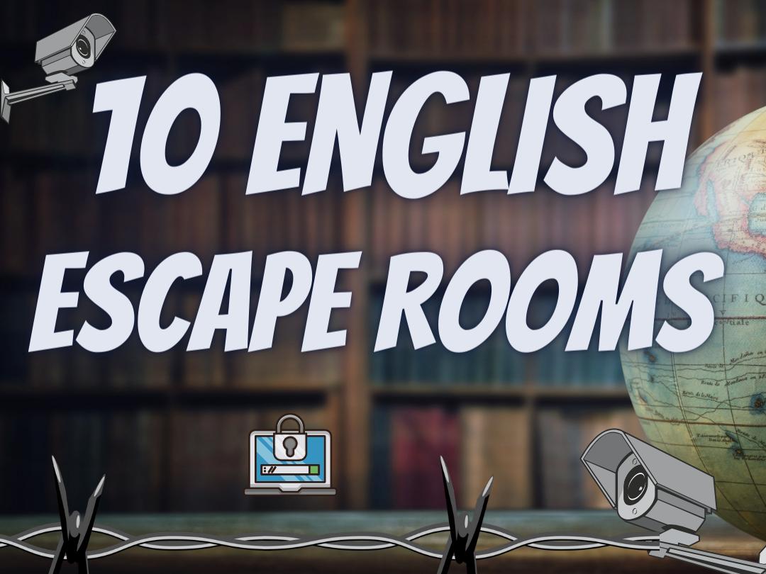 English Escape Rooms