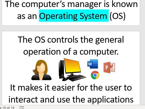 OCR GCSE Computer Science - Systems Software 1.7