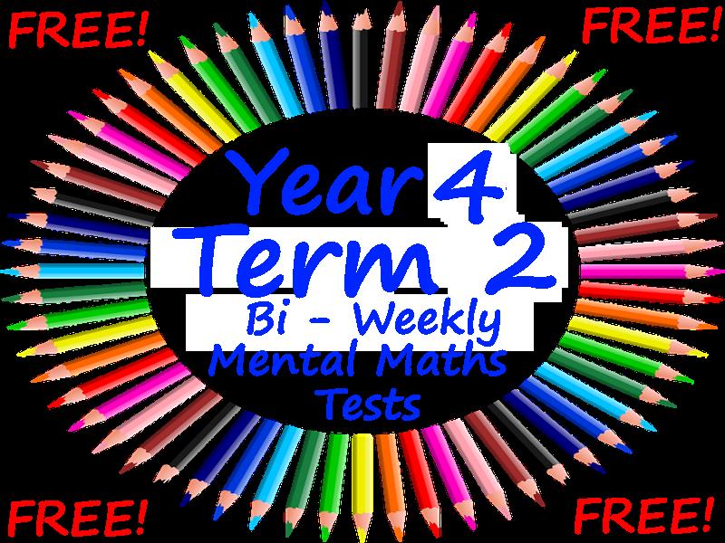 FREE Year 4 Mental Maths Test - PowerPoint Presentation - Block 2