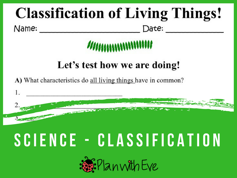 Classification of Living Things! Quiz!