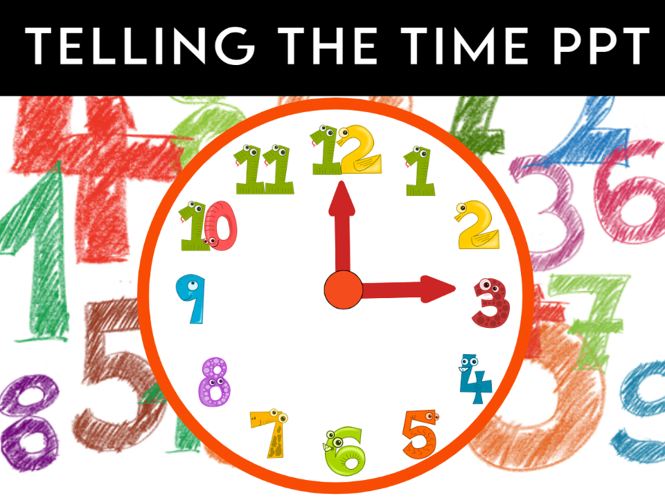 Can you tell me the Time please? PPT