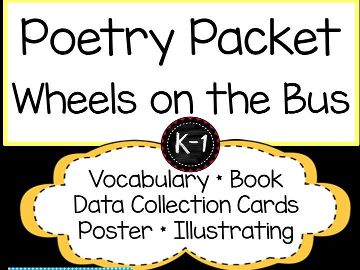 The Wheels on the Bus Poetry Packet