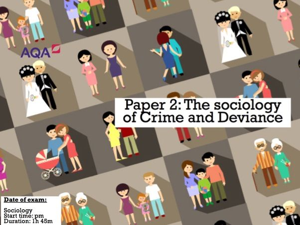 GCSE AQA Sociology: Everything you need to know- Crime and deviance
