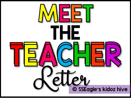 Meet the teacher letter- Editable