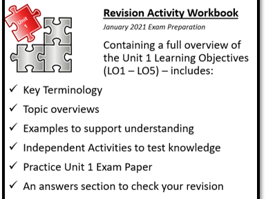 Cambridge Technical Level 3 IT Unit 1 Revision