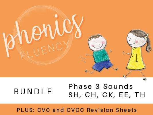 Phonics Stage 3 - Bundle of Worksheets