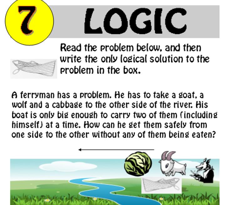 Logic Puzzles 1,4,5,6+7 Bundle
