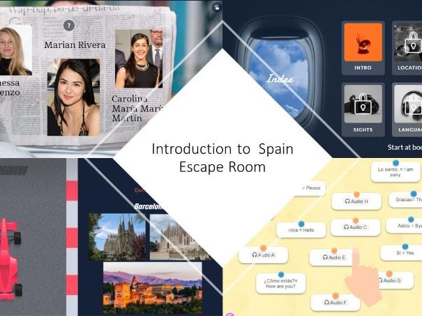 An Introduction to Spain Escape Room
