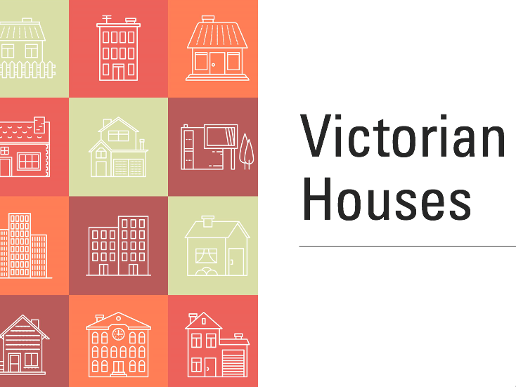 Victorian Houses Art Project