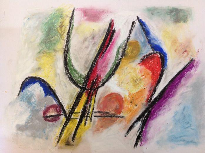 KANDINSKY INSPIRED ART