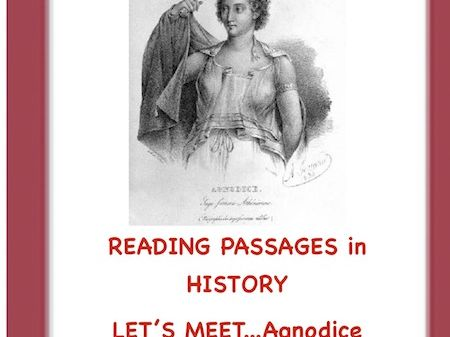 Women's History: First Female Doctor of Ancient Greece?(Agnodice)Reading Passage