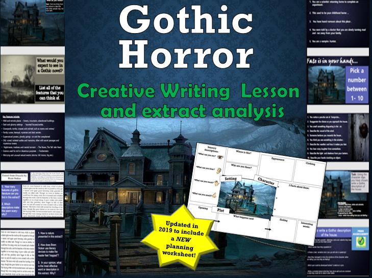 Gothic Horror Creative Writing Lesson