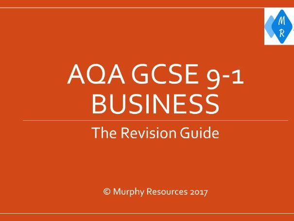 GCSE 9-1 Business Revision for AQA (Sample)