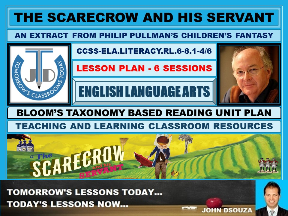 THE SCARECROW AND HIS SERVANT - READING  LESSON