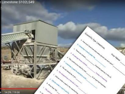 Scientific Eye Limestone Video Questions
