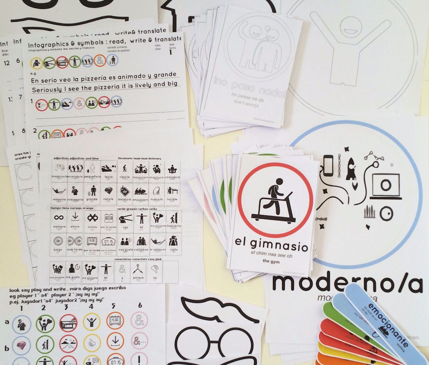 KS2/3/4 Spanish pack on Mi cuidad nforgraphics