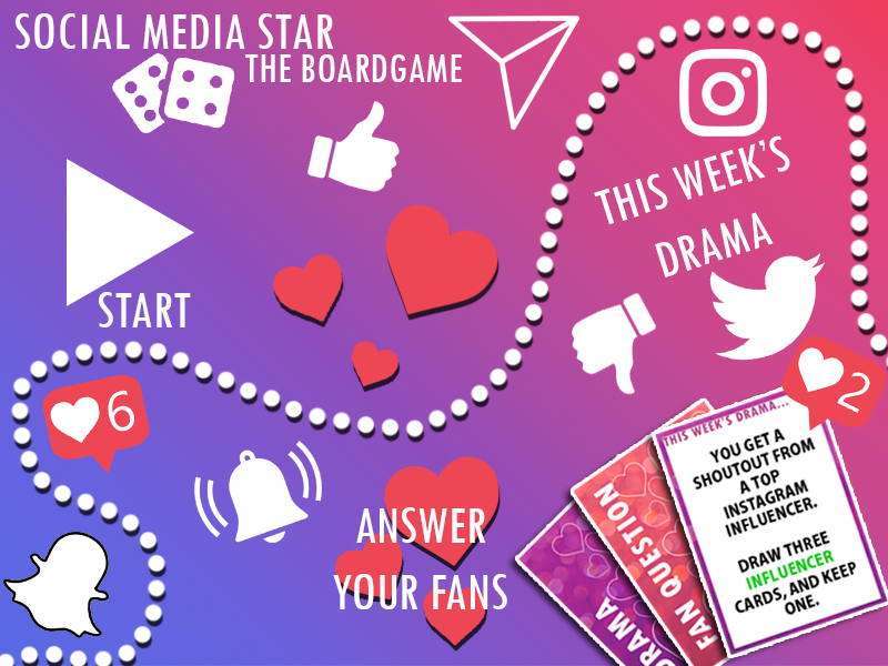 Social Media Star - Premium Bundle (Quiz/Boardgame)