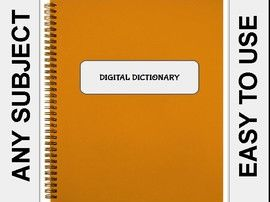 Digital Student Dictionary (Editable on Google Slides)