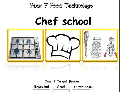 Year 7 Food Technology Booklet - Chef School