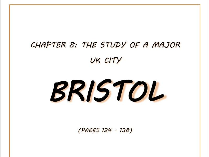Booklet covering case study of Bristol