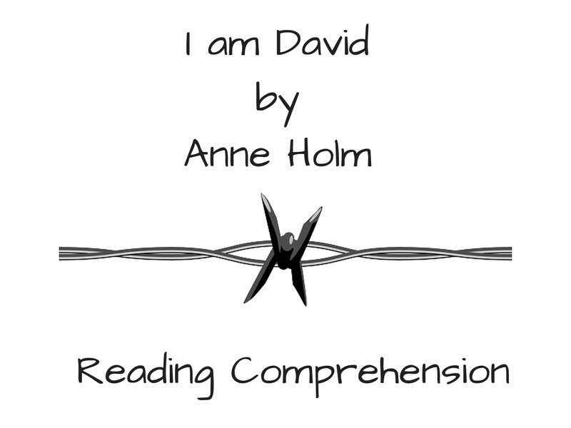 I am David - Reading Comprehension
