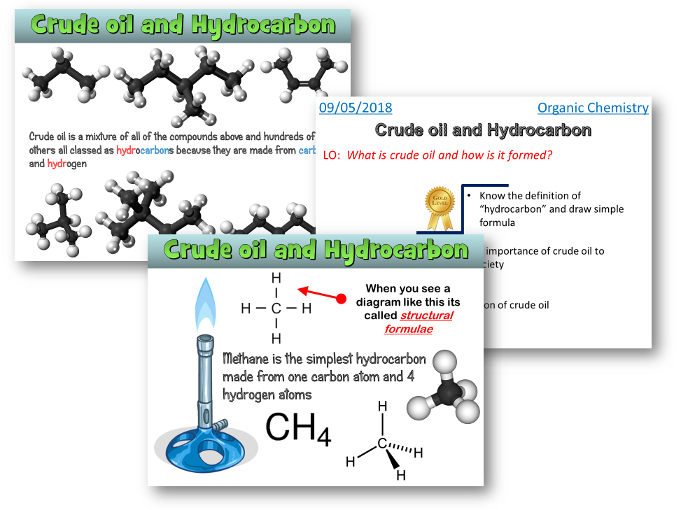 AQA Trilogy / Chemistry - Crude oil and hydrocarbons