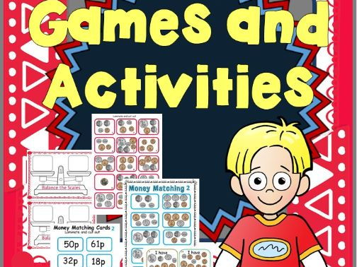 UK money games and activities