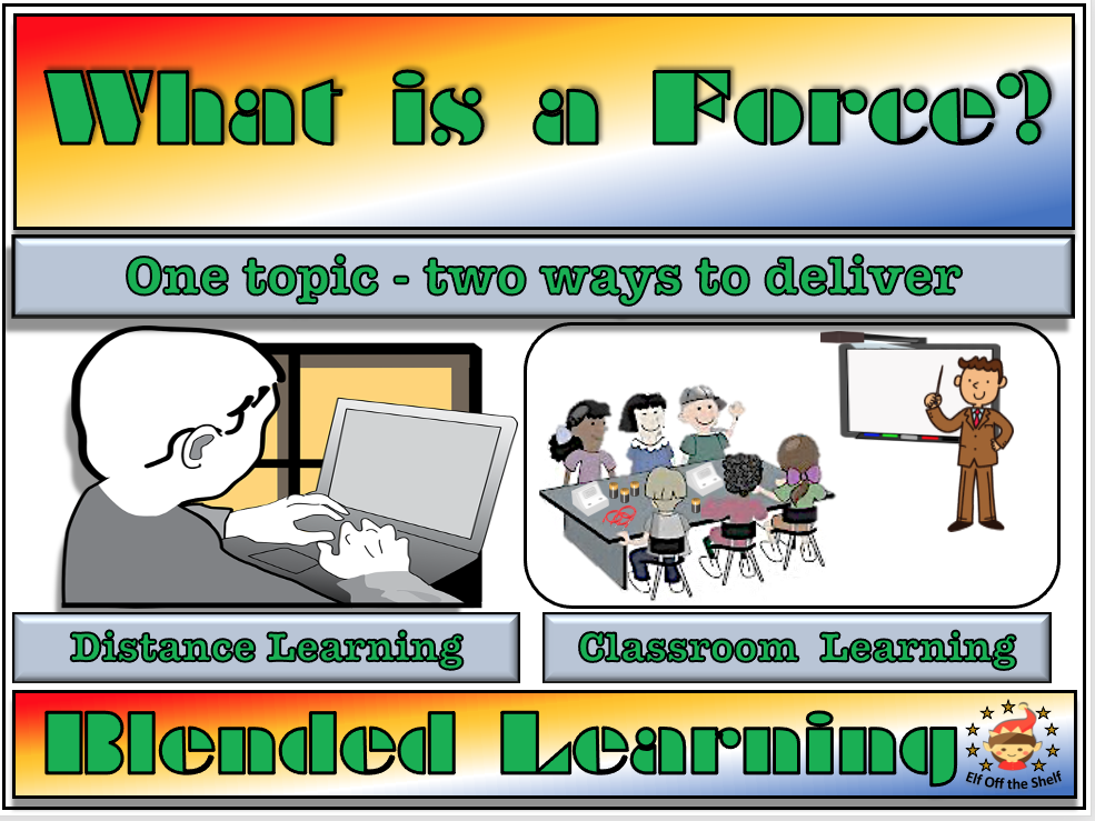Forces - What is a Force? - Classroom, Distance and Blended Learning for KS3
