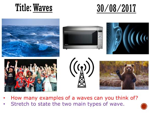 Waves - complete lesson (KS3)