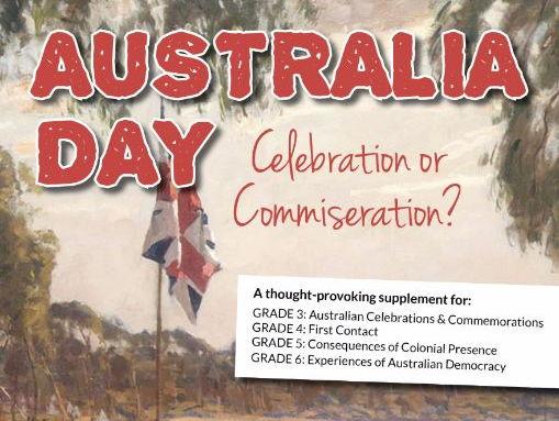 Australia Day: Celebration or Commiseration Resource Bundle