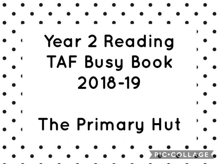 Year 2 Reading TAF Book