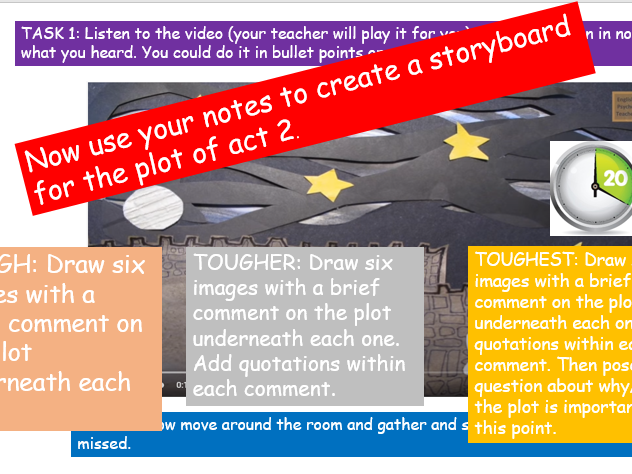 Macbeth Revision - 15 lessons and resources