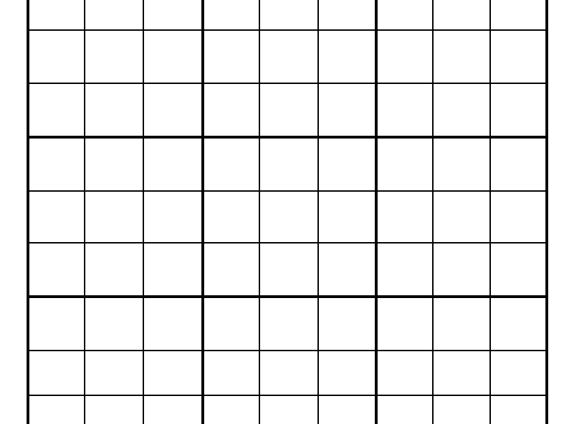 Template Sudoku French