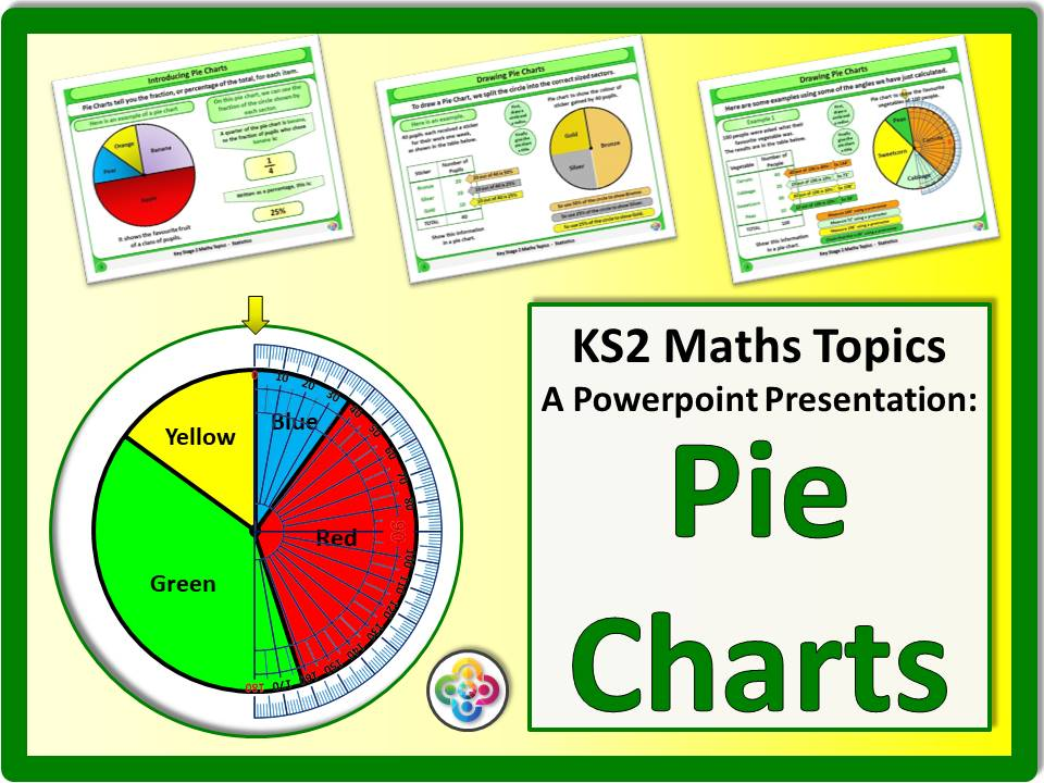 Pie Charts Ks2 By Magictrickster Teaching Resources Tes