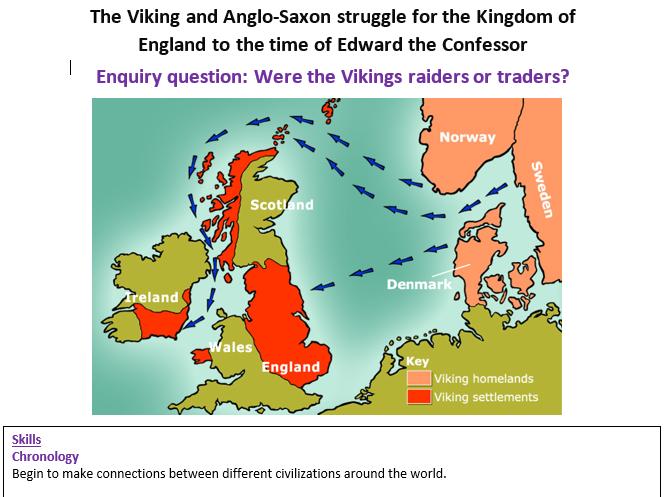 Viking and Anglo-Saxon struggle for England