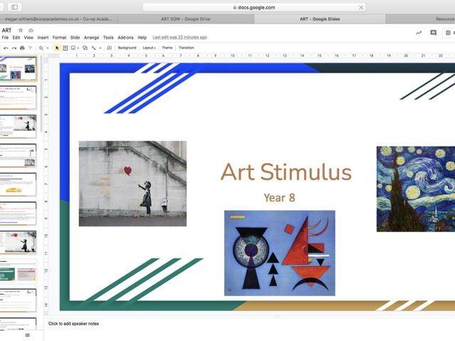 Dance SOW Art Stimulus
