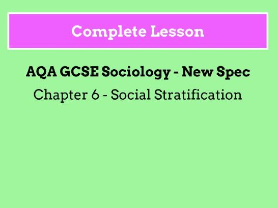 Lesson 3 - Marxist and Functionalist Views on Social Stratification